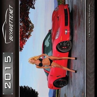 2015 Corvette Girl Calendar