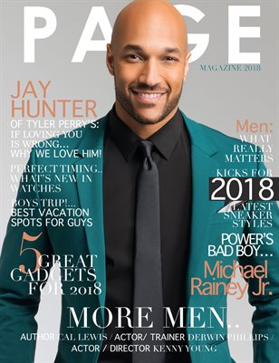 PAGE MAGAZINE MEN'S ISSUE 2018
