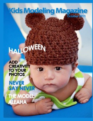 Kids Modeling Magazine, October 2011