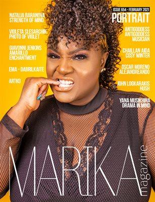MARIKA MAGAZINE PORTRAIT (ISSUE 654 - February)