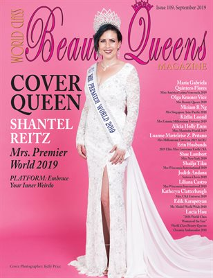 World Class Beauty Queens Magazine Issue 109 with Shantel Reitz