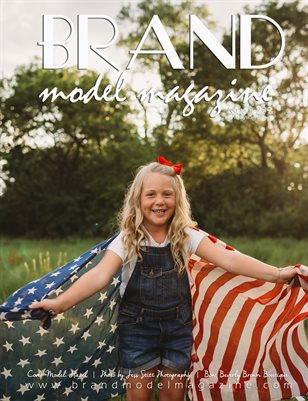 Brand Model Magazine  Issue # 229, Red/White/Blue Volume 2