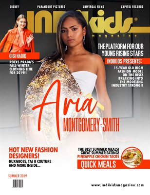 IDK 2019 SUMMER ISSUE ARIA COVER