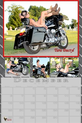 Tara Dactyl Miss December 2015 poster
