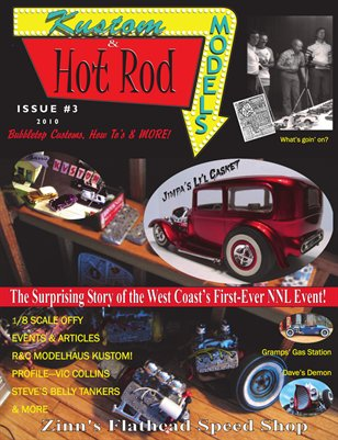 Kustom and Hot Rod Models #3