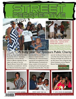 STREET PERSPECTIVE MAGAZINE  MAY 2012