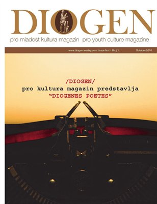 DIOGEN pro youth magazine No 1. Oktobar / October 2010.