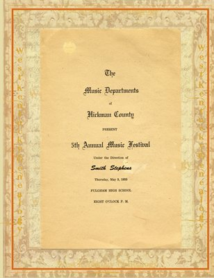 5TH Annual Music Festival of (1955) Hickman County, Kentucky