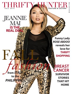 Thrifty Hunter Magazine Fall'14 Issue Jeannie Mai