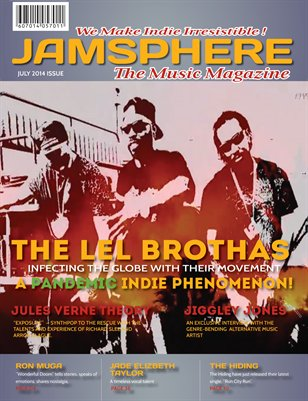 Jamsphere Indie Music Magazine July 2014