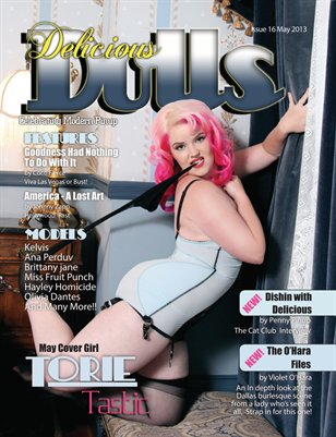 Delicious Dolls May 2013 Issue #16 - Torie Tastic Cover