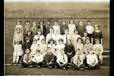 April 1924 Second Grade, Jefferson School, Paducah, McCracken County, Kentucky