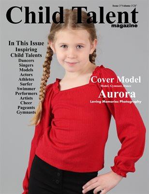 Child Talent Magazine Issue 3 Volume 3 21'