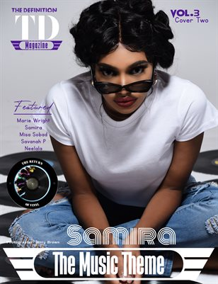 The Definition of Music: Samira Vol.3 Cover 2