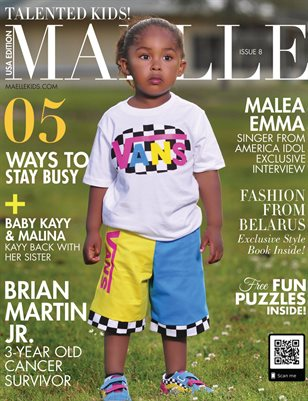 Maelle Kids Magazine Issue #8 | Brian Martin, Jr.