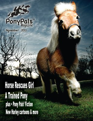 Pony Pals Magazine --November 2011 -- Vol. 1 #6