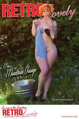 Miss Mandarin Orange Cover Poster