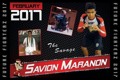 Savion Maranon Cal Poster 2017