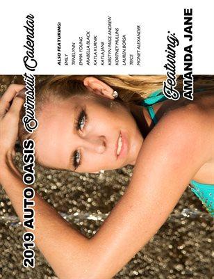 Auto Oasis Swimsuit Calendar Featuring Amanda