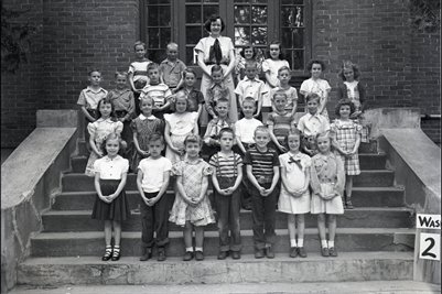 May 10 1951 2nd Grade, Washington School, Graves County, Kentucky