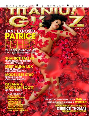 TITANIUMGIRLZ MAG ACTRESS PATRICE FISHER COVER MODEL! OUT NOW.AUGUST 2012