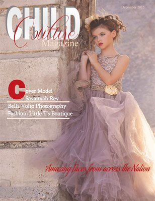 Child Couture Magazine Fall Winter Issue 2015