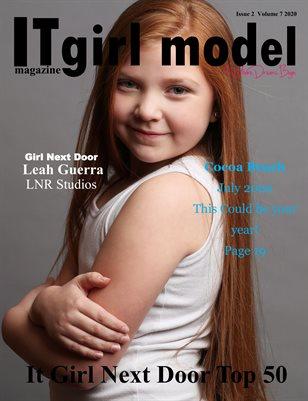 it Girl Model magazine issue 2 Volume 7 2020 It Girl Next Door Top 50
