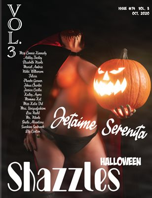 Shazzles Halloween Issue #74 VOL. 3 Cover Model Jetaime Serenita