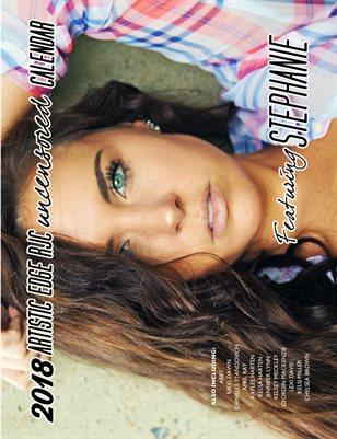 Uncensored 2018 calendar featuring Stephanie