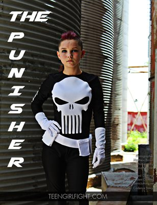 Cadence Justice as The Punisher | Teen Girl Fight