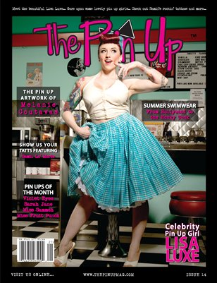 "The Pin Up ""Lisa Luxe"" Issue 14"