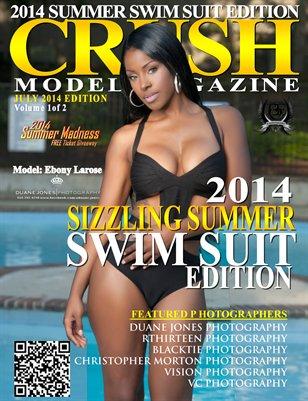 CRUSH MODEL MAGAZINE 2014 SUMMER SWIM SUIT EDITION VOL1