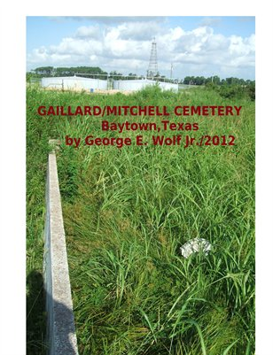 Gaillard Family Cemetery by George E. Wolf Jr.