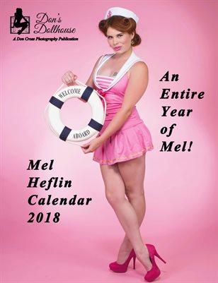 Don's Dollhouse 2018 Mel Heflin Calendar