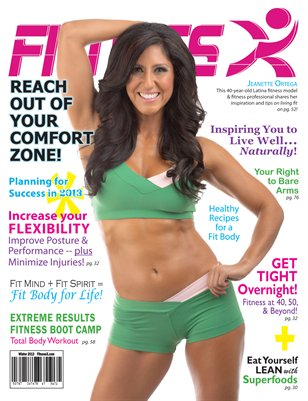 Winter/Spring 2013 FitnessX Magazine