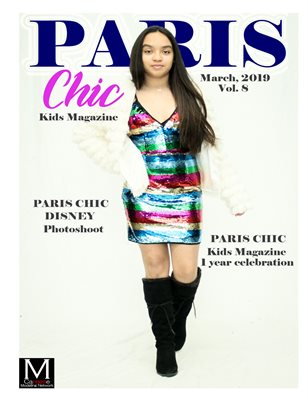 Paris Chic Kids Magazine March 3