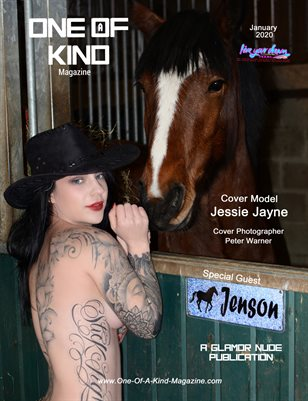 ONE OF A KIND MAGAZINE - Cover Model Jessie Jayne - January 2020