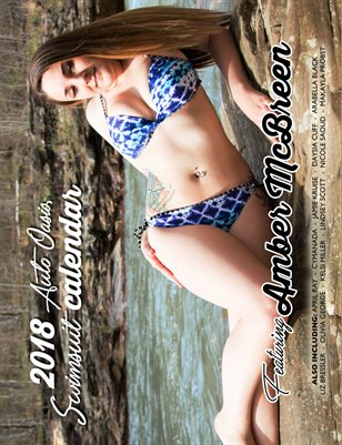 2018 Auto Oasis Swimsuit Calendar featuring Amber