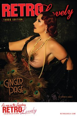 Taboo Edition No. 43 – Ginger Page Cover Poster