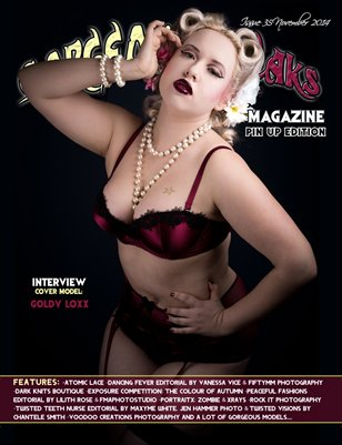 Issue 35 Pin Up Edition Cover Model: Goldy Loxx