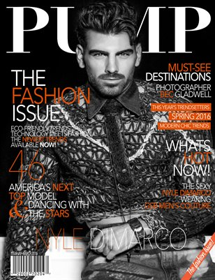 PUMP Magazine Issue 65 Featuring Nyle DiMarco