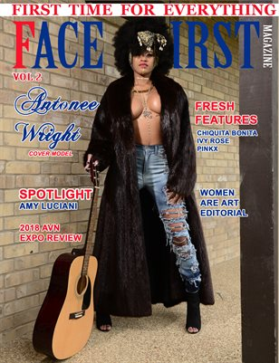 FACE FIRST MAGAZINE VOL.2 *ANTONEE WRIGHT)