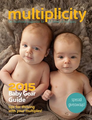 Multiplicity - Baby Gear Guide 2015