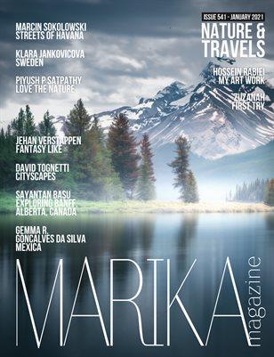 MARIKA MAGAZINE NATURE & TRAVELS (ISSUE 541 - January)