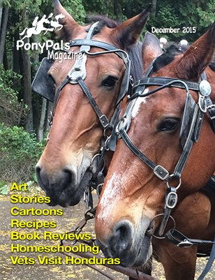 December 2015 Pony Pals Magazine, Vol.5 #7