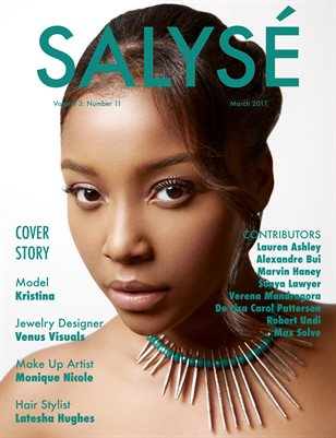 SALYSÉ Magazine | Vol 3:No 11 | March 2017 |