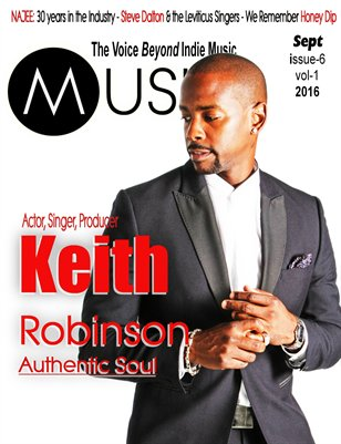 Musiek Sept Issue Featuring Keith Robinson