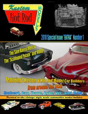 Kustom and Hot Rod Models 'Extra' #1