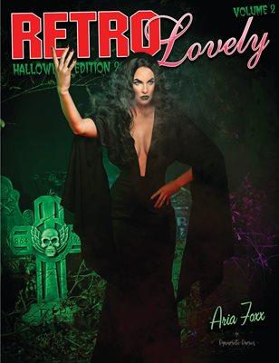 Retro Lovely Halloween 2019 Volume No.2 – Aria Foxx Cover