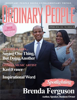ORDINARY PEOPLE Magazine | Spring 2019 | Vol. 10 | Issue 26